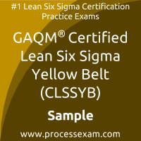 CLSSYB Dumps PDF, Lean Six Sigma Yellow Belt Dumps