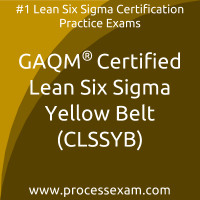 CLSSYB dumps PDF, Lean Six Sigma Yellow Belt dumps, GAQM CLSSYB Braindumps