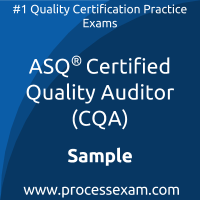 CQA Dumps PDF, Quality Auditor Dumps