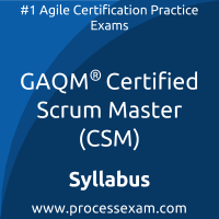 CSM dumps PDF, GAQM CSM Braindumps