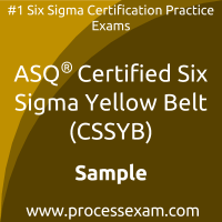 CSSYB Dumps PDF, Six Sigma Yellow Belt Dumps