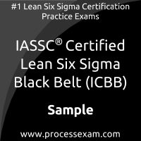 ICBB Dumps PDF, Lean Six Sigma Black Belt Dumps
