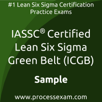 ICGB Dumps PDF, Lean Six Sigma Green Belt Dumps