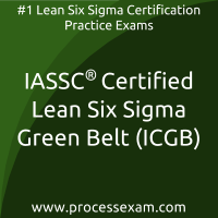 ICGB dumps PDF, Lean Six Sigma Green Belt dumps, IASSC ICGB Braindumps