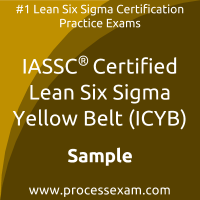 ICYB Dumps PDF, Lean Six Sigma Yellow Belt Dumps