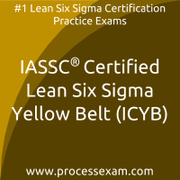 ICYB dumps PDF, Lean Six Sigma Yellow Belt dumps, IASSC ICYB Braindumps