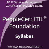 Peoplecert Itil Foundation Syllabus And Exam Details Process Exam