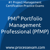 PfMP dumps PDF, Portfolio Management dumps, PMI PfMP Braindumps