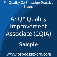 CQIA Dumps PDF, Quality Improvement Associate Dumps