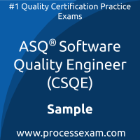 CSQE Dumps PDF, Software Quality Engineer Dumps