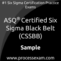 CSSBB Dumps PDF, Six Sigma Black Belt Dumps