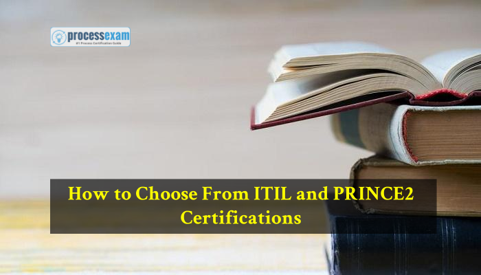 ITIL and PRINCE2 certifications