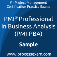 PMI-PBA Dumps PDF, Business Analysis Dumps