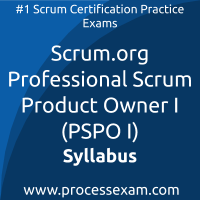 PSPO I dumps PDF, Scrum.org PSPO I Braindumps