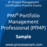PfMP Dumps PDF, Portfolio Management Dumps