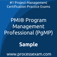 PgMP Dumps PDF, Program Management Dumps