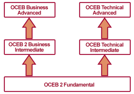 OCEB 2 Certified Professional, FUNDAMENTAL, BUSINESS INTERMEDIATE, TECHNICAL INTERMEDIATE, BUSINESS ADVANCED, TECHNICAL ADVANCED