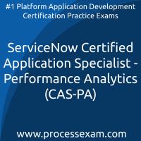 ServiceNow Certified Application Specialist - Performance Analytics (CAS-PA) Pra