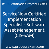 ServiceNow Certified Implementation Specialist - Software Asset Management (CIS-