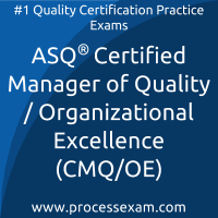 ASQ Manager of Quality/Organizational Excellence (CMQ/OE)