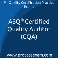 ASQ Certified Quality Auditor (CQA)