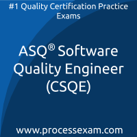 ASQ Certified Software Quality Engineer (CSQE) Practice Exam