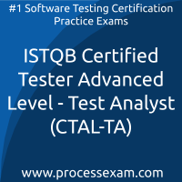 ISTQB Certified Tester Advanced Level - Test Analyst (CTAL-TA) Practice Exam