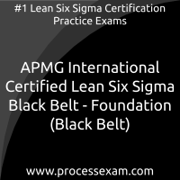 APMG International Certified Lean Six Sigma Black Belt - Foundation (Black Belt)