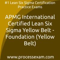 APMG International Certified Lean Six Sigma Yellow Belt - Foundation (Yellow Bel
