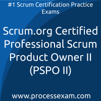 Scrum.org Certified Professional Scrum Product Owner II (PSPO II) Practice Exam