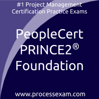 PeopleCert PRINCE2 2017 Foundation Certification - Project Management Practice E